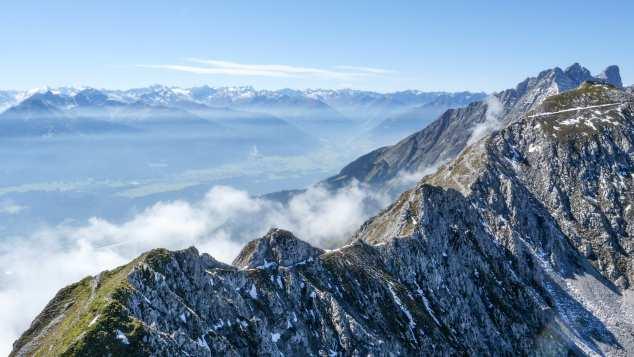 nordkette mountain range