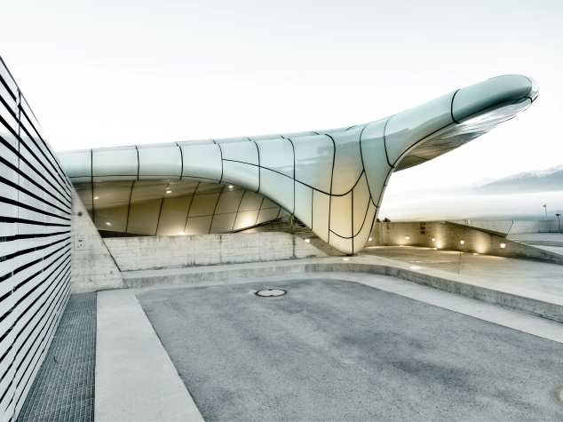 The Hungerburg Funicular