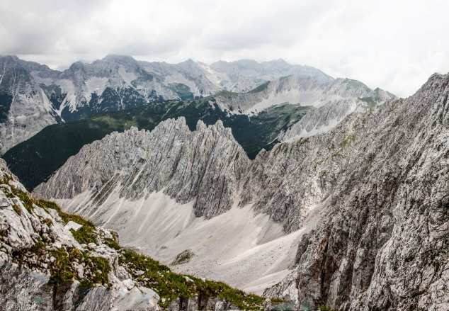 Klettersteig Innsbruck : Klettersteig nordkette