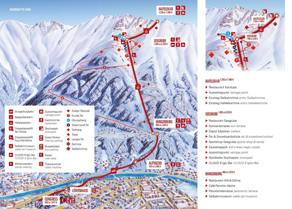 Open slopes map