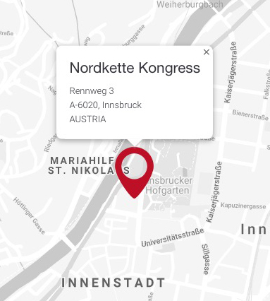 Nordkette location